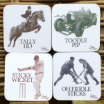 Set of 4 traditional coasters