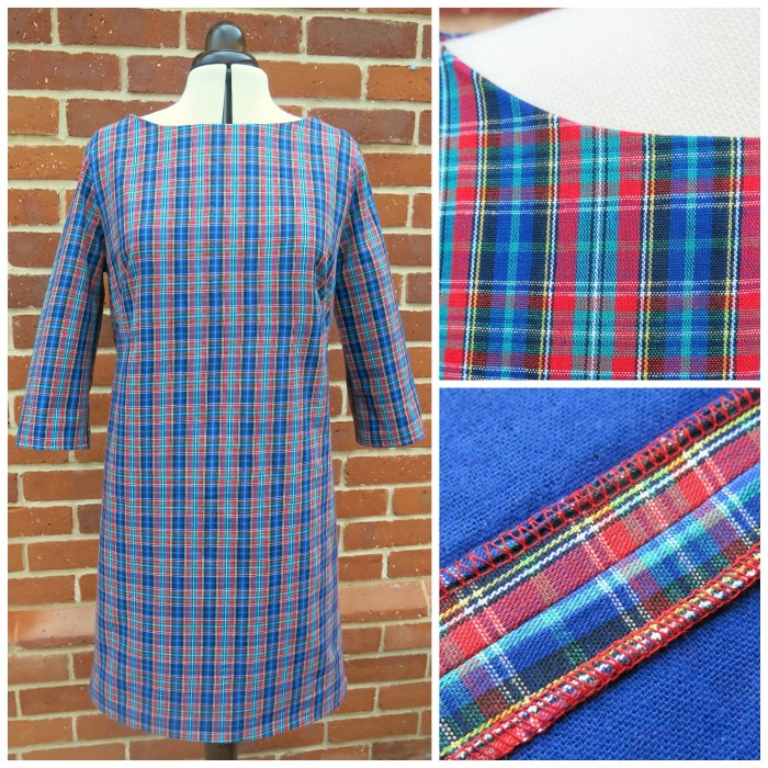 Retro Tartan Dress