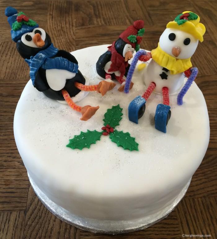 Christmas Cake Characters