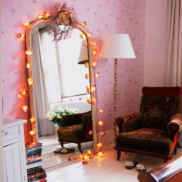 Pink Girls Bedroom Mirror