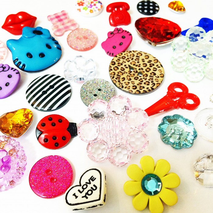 Buttons Hello Kitty