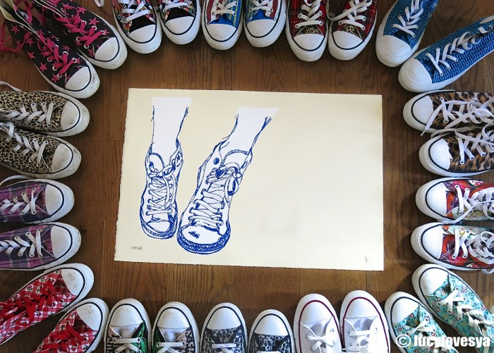 Converse Print Instagram Giveaway