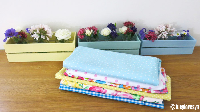 DIY Window Boxes & Fabric