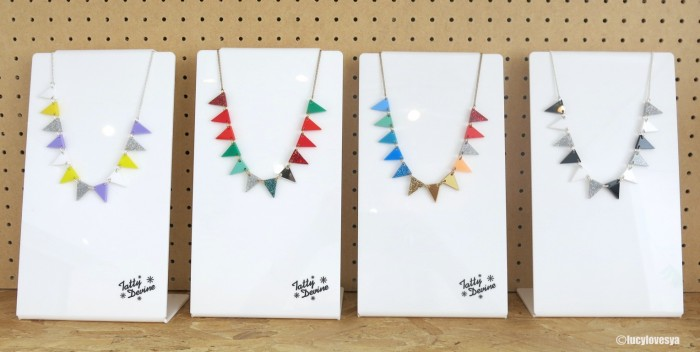 Bunting Necklaces