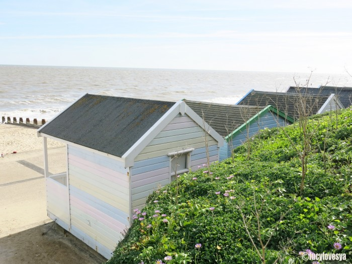 Beach Huts Striped
