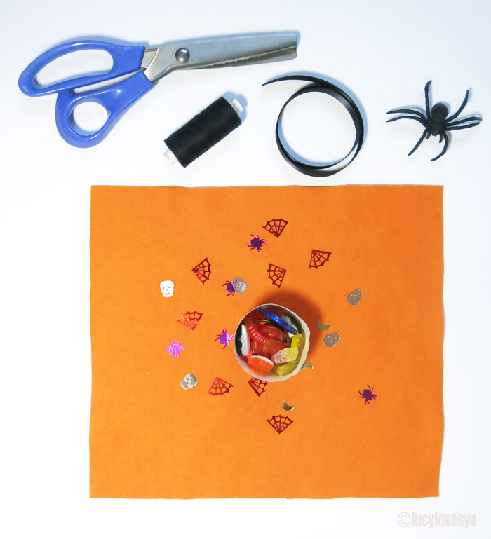Hallow Party Bags Ribbon