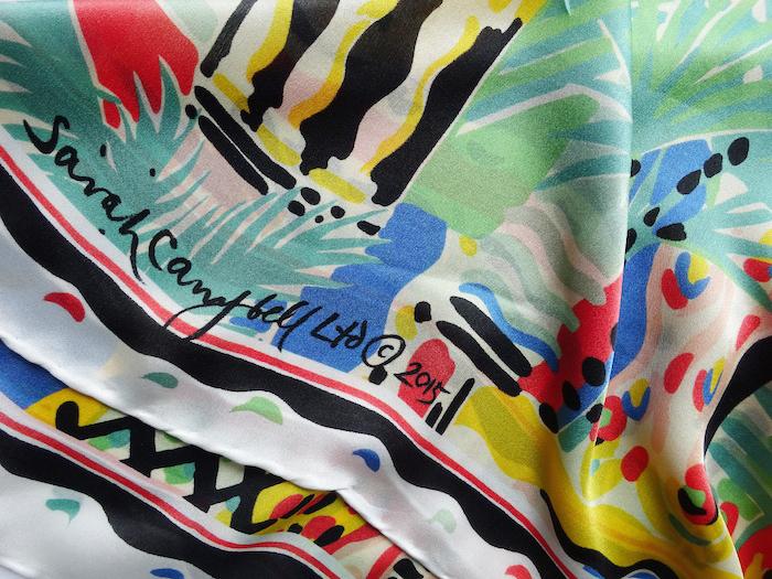 6 cote d'azur silk scarf 2015