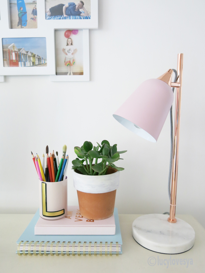Oliver Bonas Lamp - Lucy Loves Ya