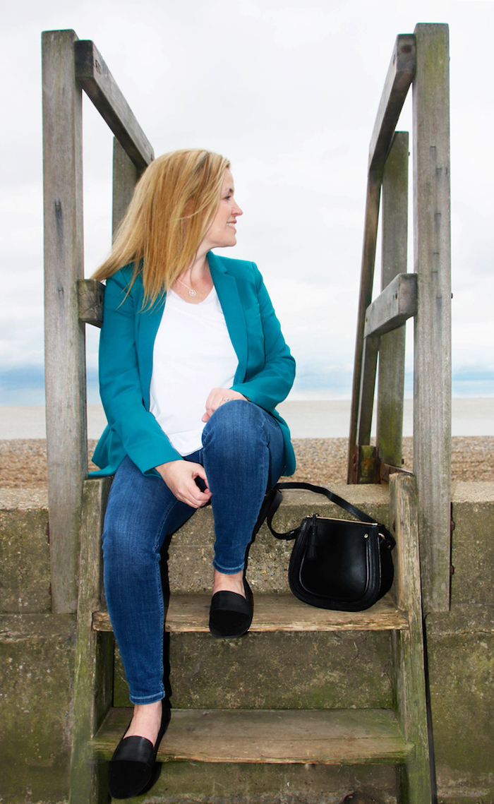 Boden clothing by Aldeburgh sea jacket seaside relaxing pretty view