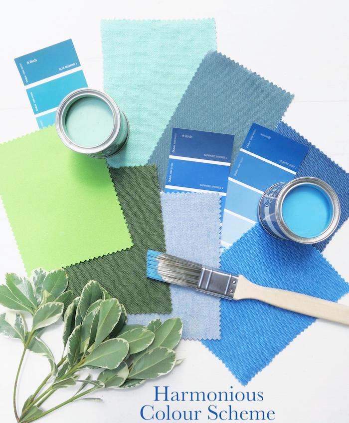 Harmonious Colour Scheme Interior Design