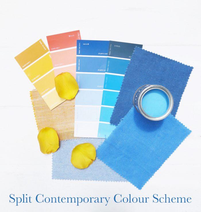 Split Contemporary Colour Scheme Interior Design