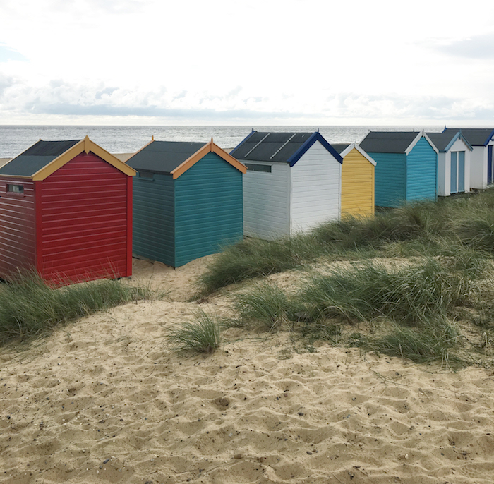 Southwold beach huts colour color pretty