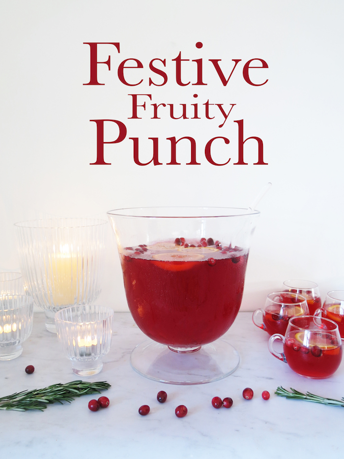 fruit punch christmas ideas