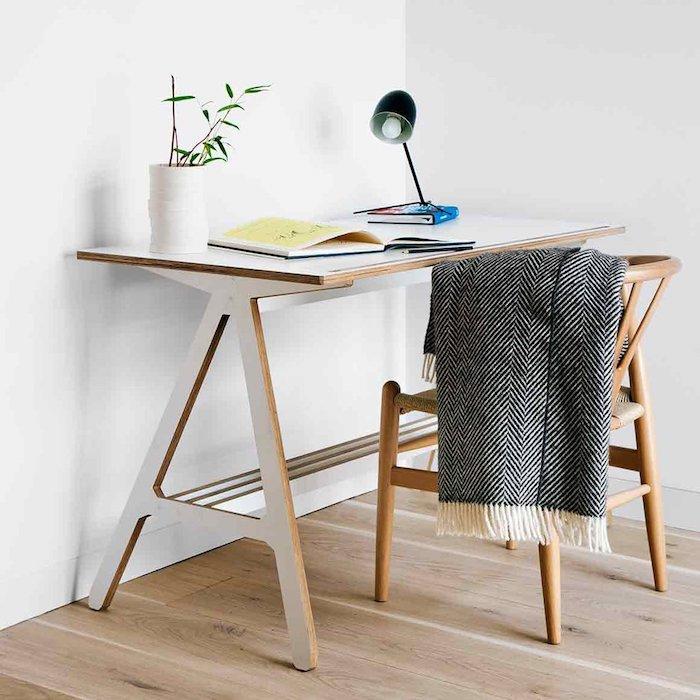 scandi desk danish teenager wooden