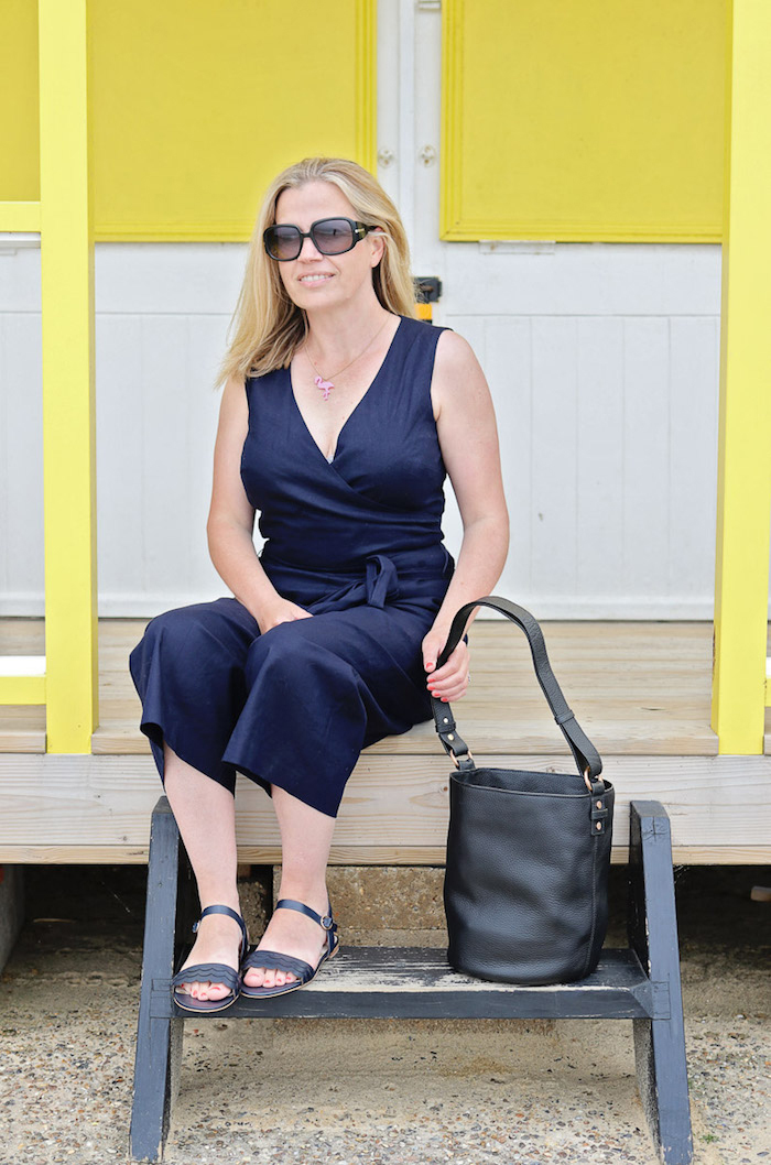 jumpsuit navy boden wrap beach huts southwold