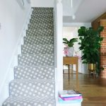 Brintons Stair Runner Spotty Carpet Dotty Grey Colour Hallway