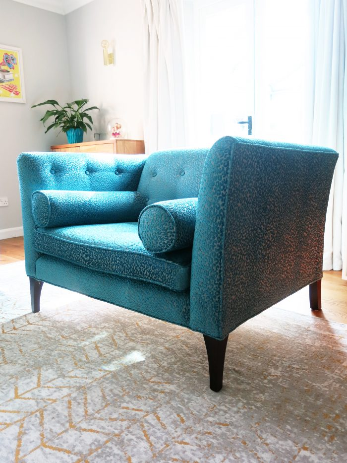 broadwick Sofa matthew williamson teal broad wick