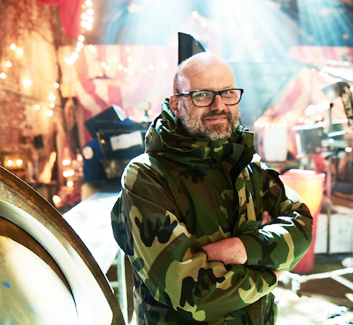 Inspire Me - Interview with TV Production Designer Richard Drew
