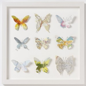 butterfly decoupage artwork