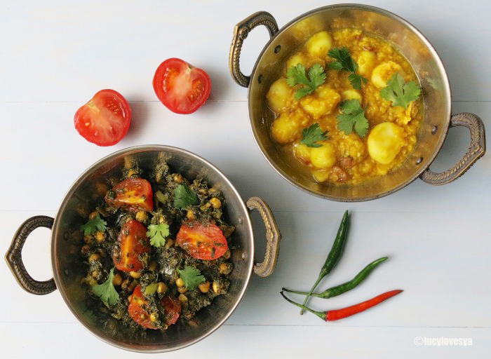 vegetarian curry recipe aloo