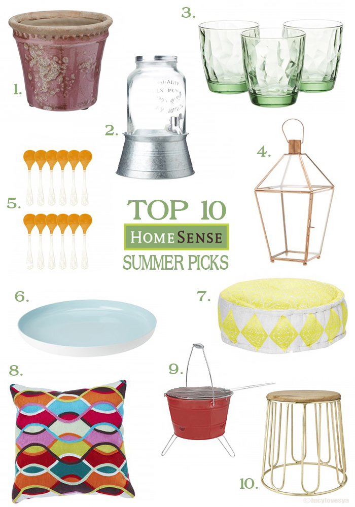 HomeSense Summer garden