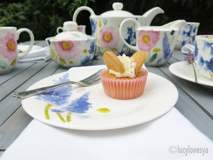 BlueBellGray & Cupcakes tea set pretty china plate