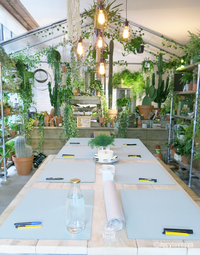 green house greenery pantone stay london design inspiration