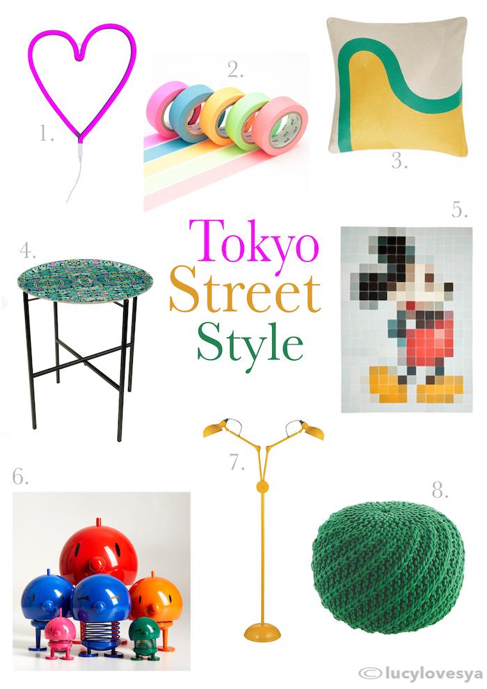 tokyo harajuku home inspiration ideas