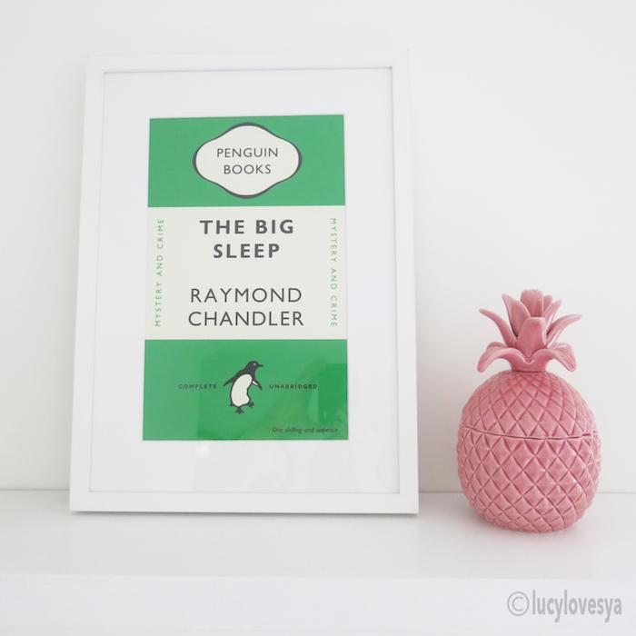 artwork penguin books green the big sleep
