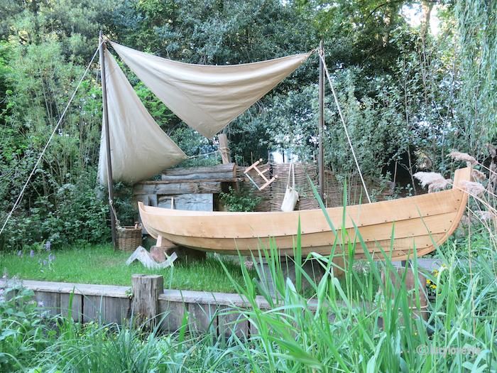 Boat Garden RHS Chelsea