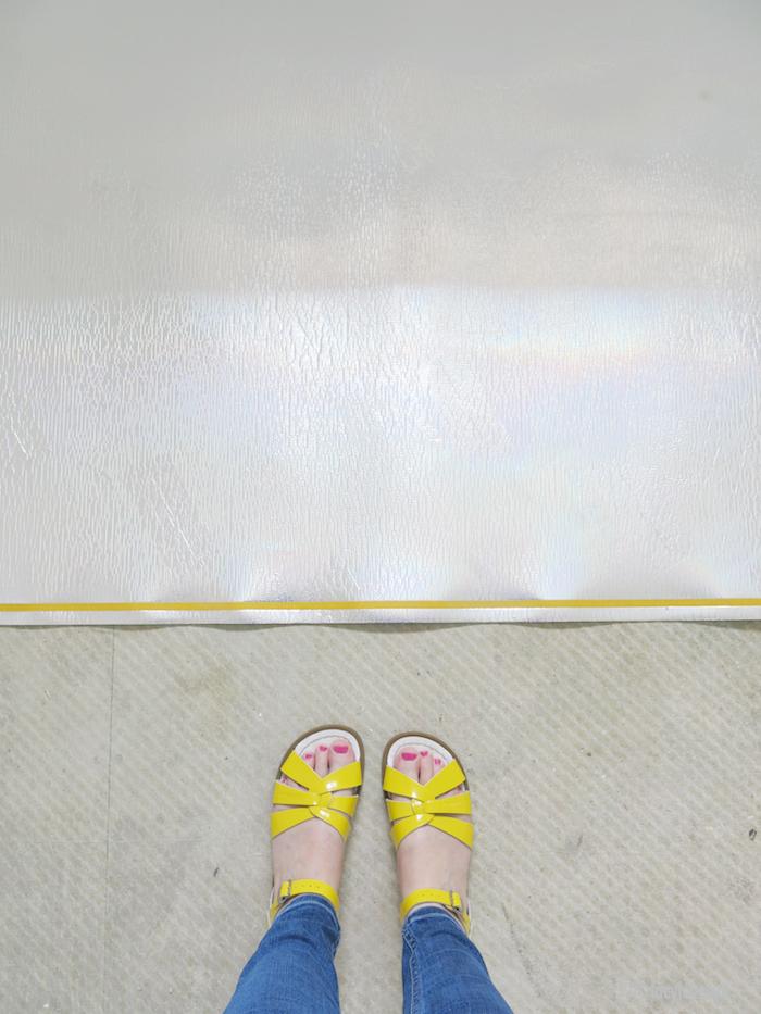 Laying Underlay Floor
