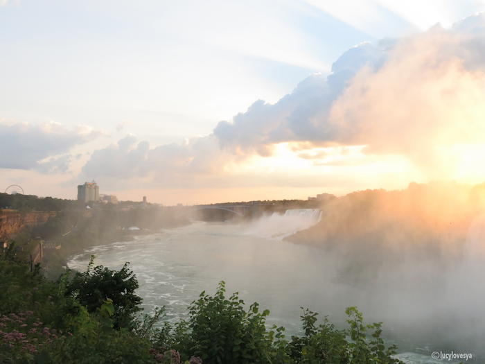 Niagara Falls View Sunrise