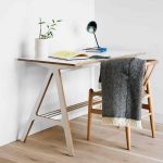 scandi desk danish teenager wooden