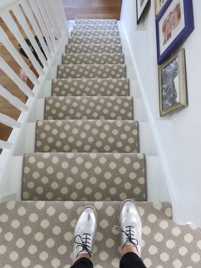 Grey Pebble Cosy Carpet Wool Hallway