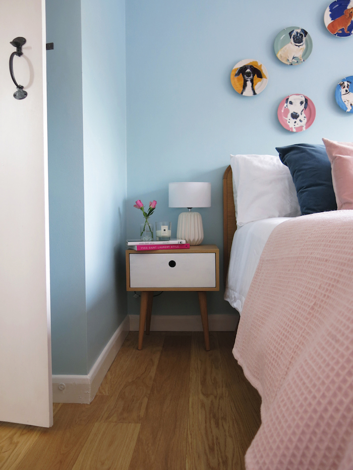 Pastels bedroom Colour Palette