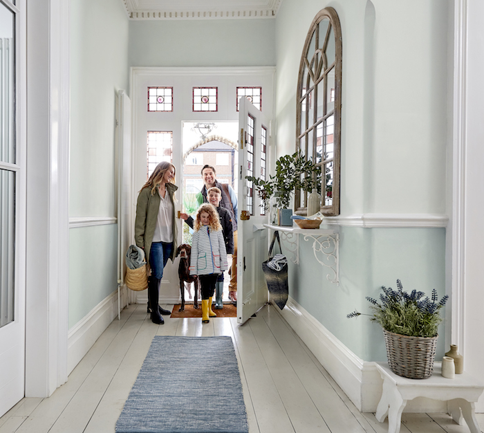 Sanderson Paint Blues hallway