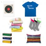 Collage Christmas Gifts Kids Fun Colourful