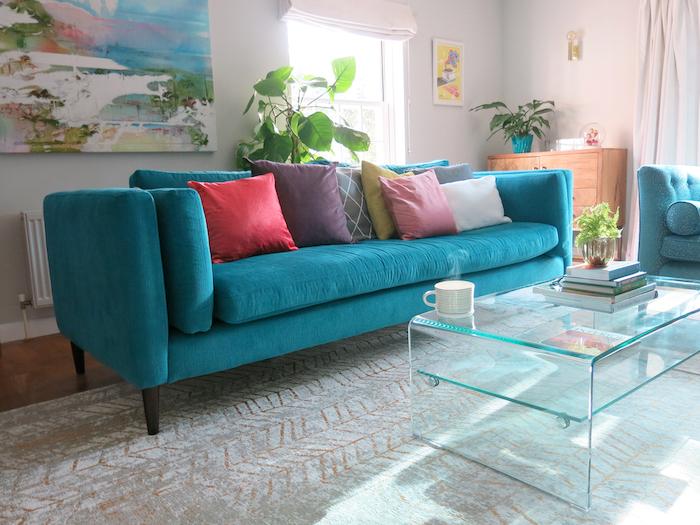Eden Teal Sofa Workshop Review