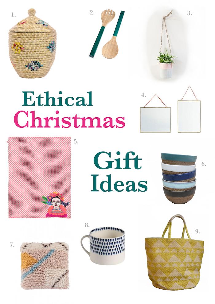 Christmas fair-trade gifts
