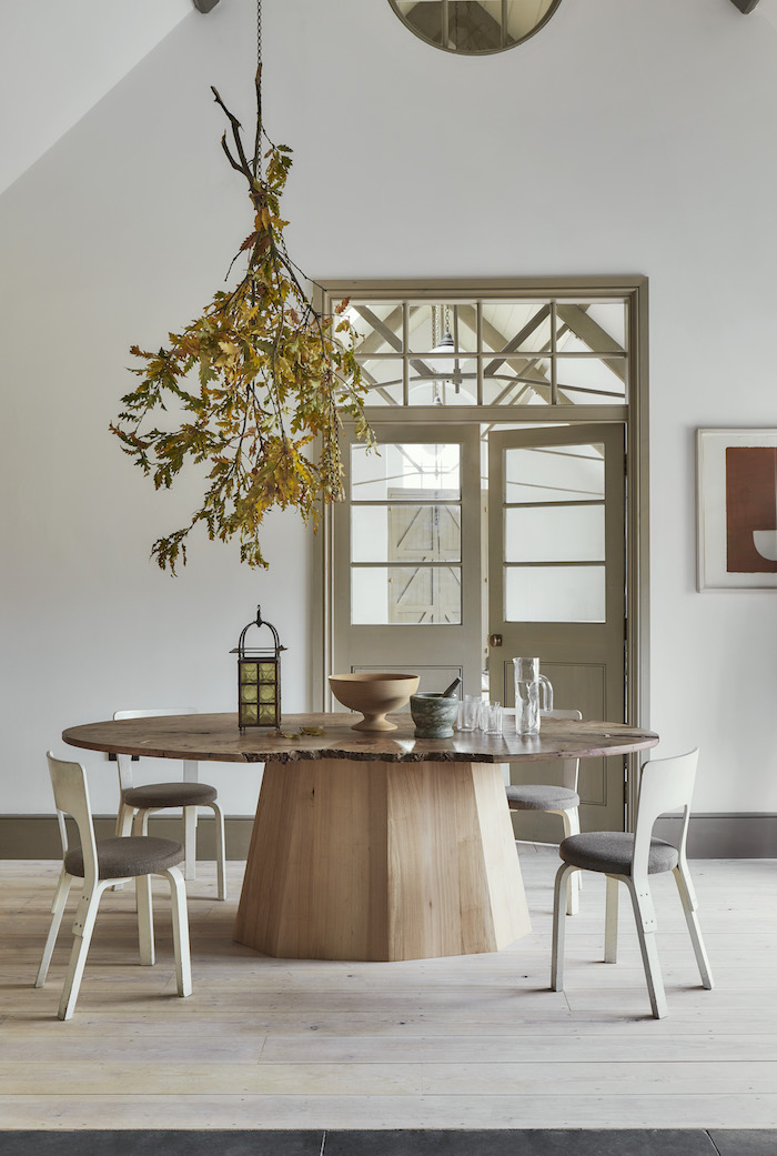 Dining table styles converted house