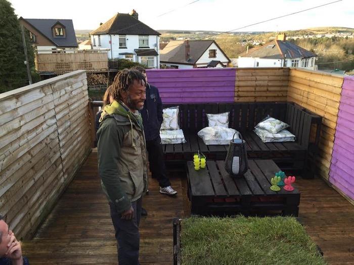 Danny Clarke BBC1 Instant Gardener