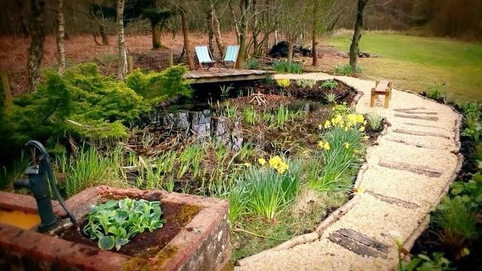Instant Gardener BBC1 Images Pond Redesign