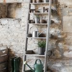 Indoor outdoor Shelving Ladder Storage Pots Ideas Tips Gardening