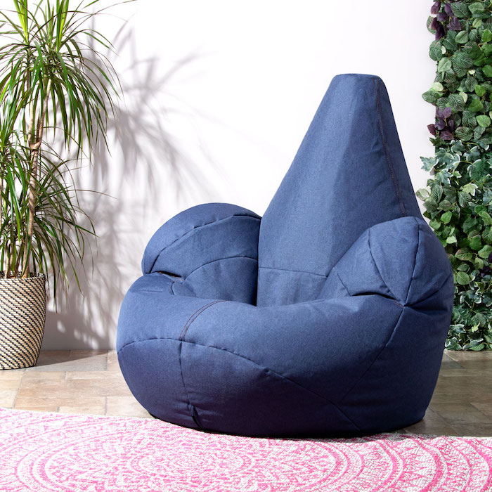 Indoor outdoor seating comfy fun kids bean bag