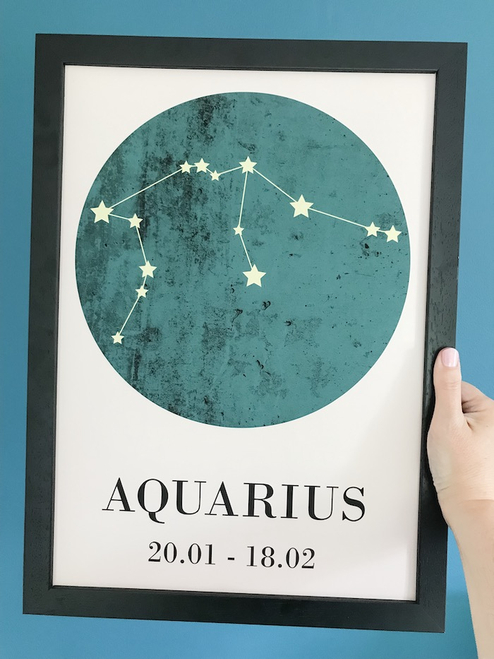 Artwork Aquarius Astrology
