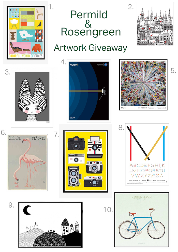 artwork giveaway win prints uk