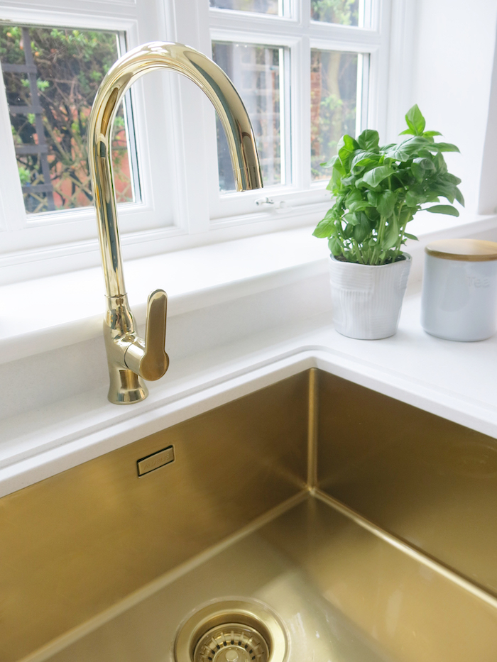 gold sink kitchen inspiration alveus ideas undermount