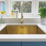 gold sink tap olif kitchen inspiration ideas advice