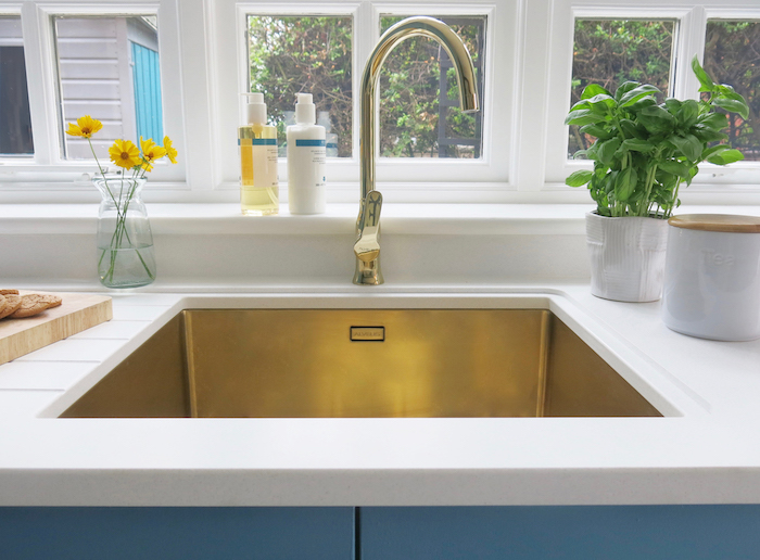 gold sink tap olif kitchen inspiration ideas advice