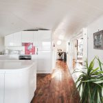 Houseboat quirky cool living space contemporary cosy